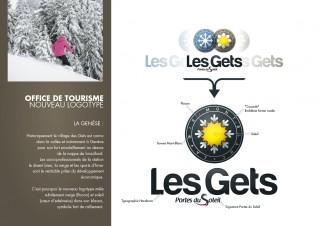 Nouveau logo - Les Gets - 2013.