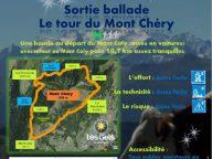 Tour du Mont Chery le 11 Juillet 2016