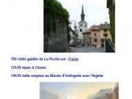 Sortie à la Roche sur Foron le 4 Août 2016
