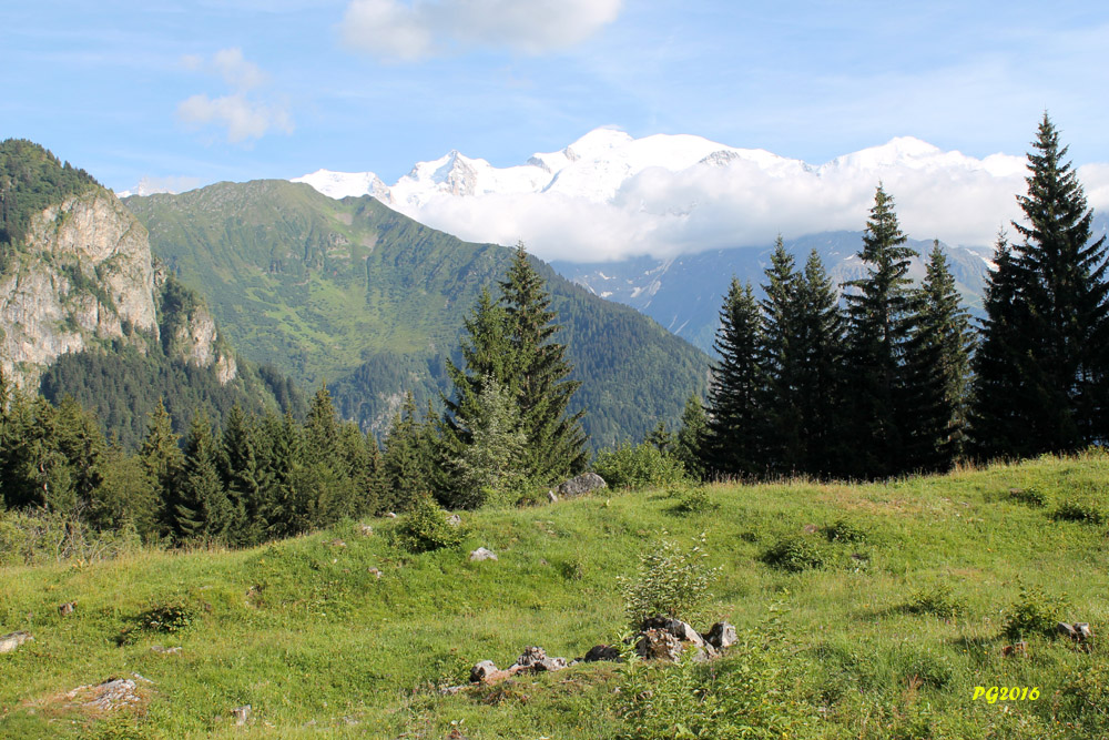 PORMENAZ Mont Blanc