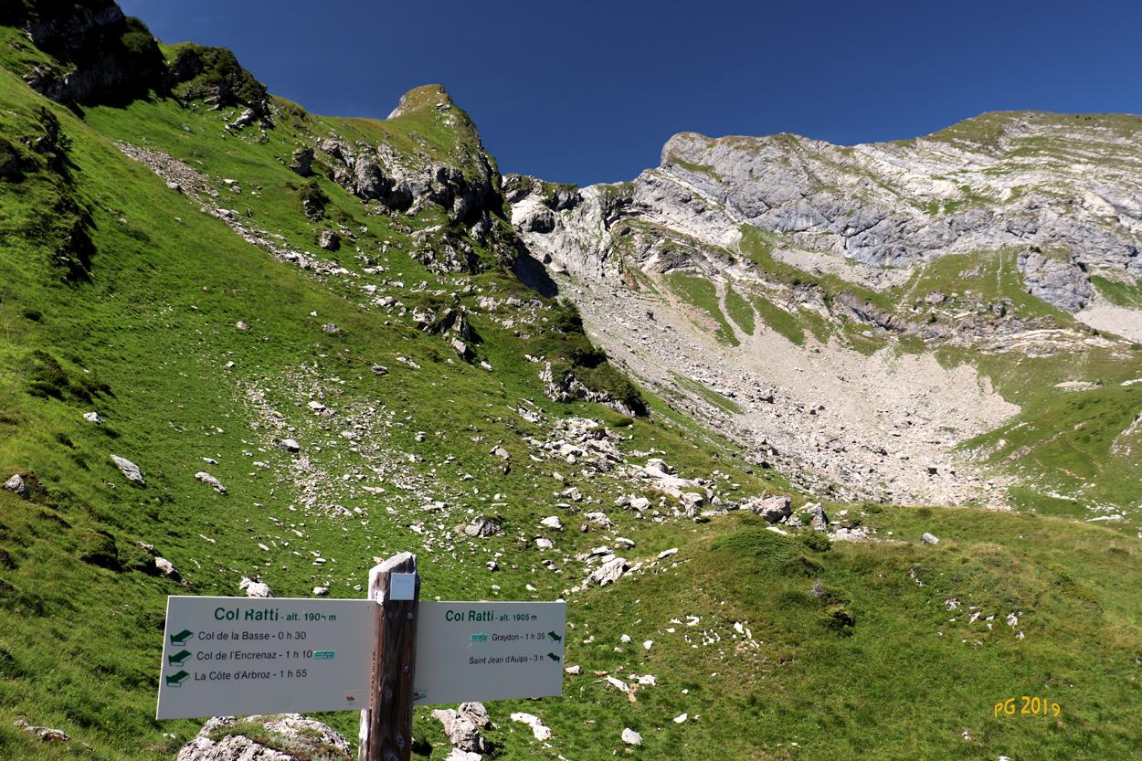 Col de Ratti Roc d'ENFER
