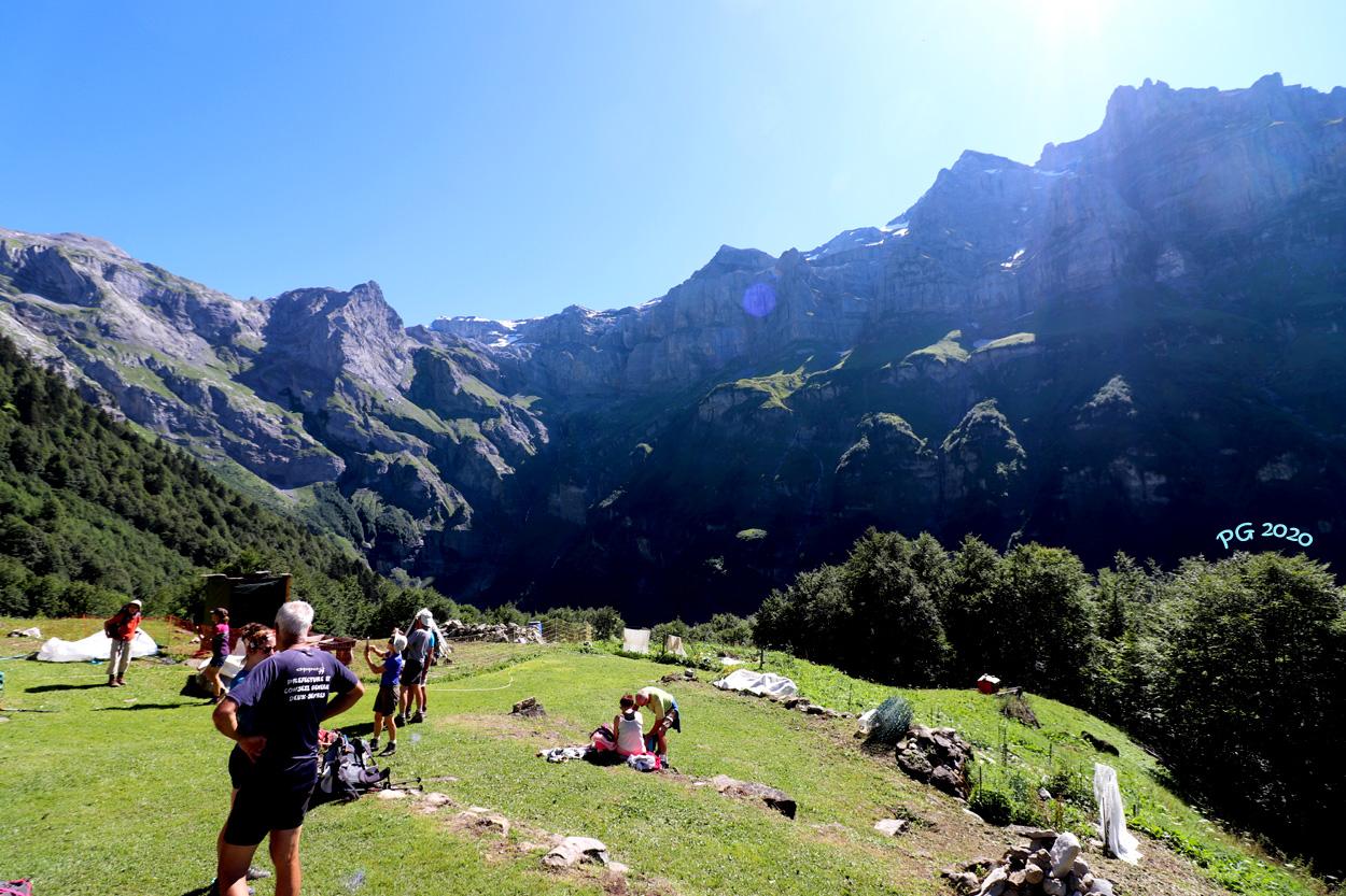 Bout du monde et Mt Ruan en contre jour au Boret