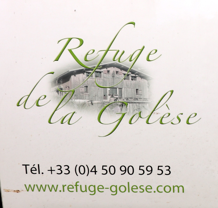 Refuge de la Golese Logo
