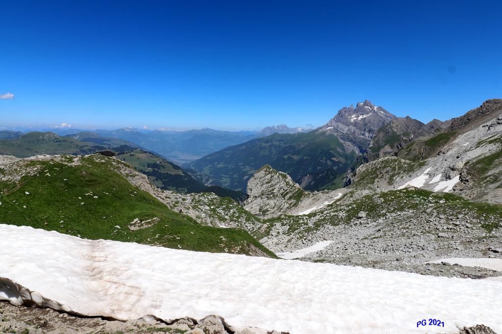 Vue Col de Bostan